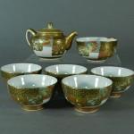 東京 練馬区で九谷焼や大倉陶園の茶器をお譲り頂きました