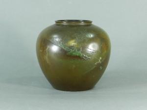 銅器 花瓶