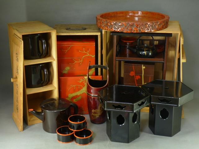 埼玉県 深谷市で輪島塗の漆器や銅器の観音像などをお譲り頂きました