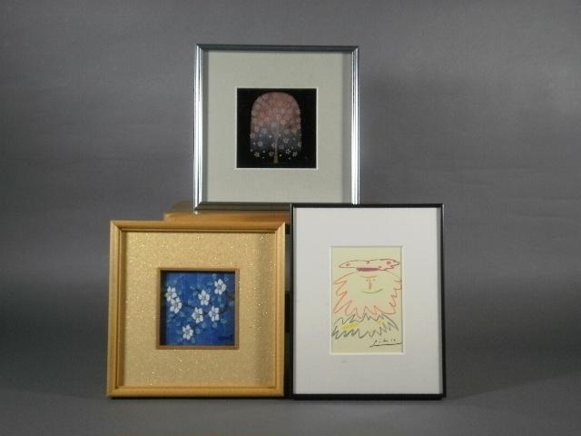 東京都 北区で版画(ピカソ)、漆額、陶板(館林源右衛門)などを引き取らせて頂きました