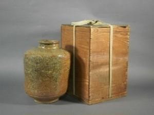 古信楽(伊賀)せいべい壺