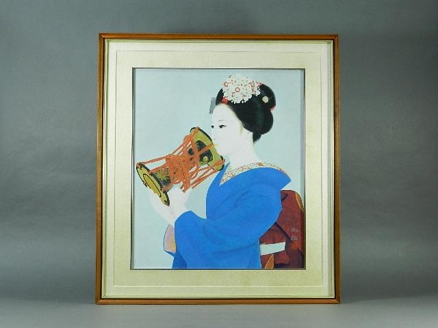 東京都 渋谷区で日本画(青島淑雄)やリトグラフ(ポール・アイズピリ)などを買取りました