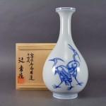 埼玉県 鴻巣市で辻常陸の花瓶や館林源右衛門の香炉をお譲り頂きました