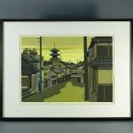 埼玉県 狭山市で木版画(井堂雅夫・奥山儀八郎)を買取らせて頂きました