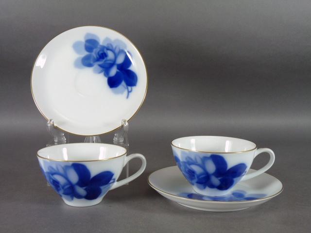埼玉県 さいたま市大宮区で「大倉陶園」のブルーローズや「ウエッジウッド」のジャスパーの茶器などを引き取らせて頂きました