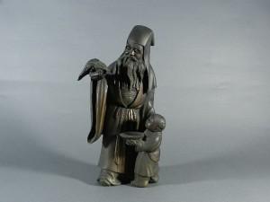 唐子寿老人 銅器