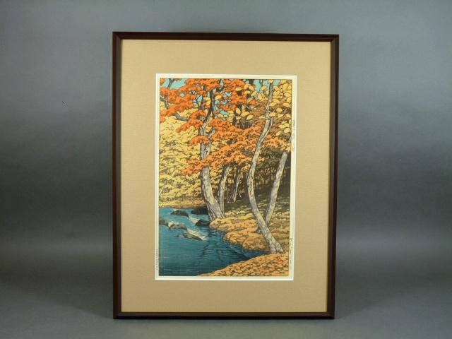 東京都 江戸川区で「川瀬巴水」や「池田遙邨 」の作品を買取らせて頂きました