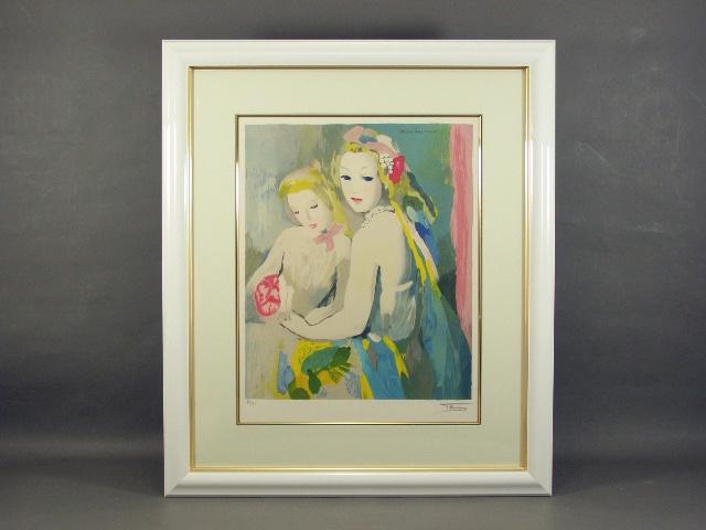 埼玉県 ふじみ野市で「マリー・ローランサン」や「西嶋勝之」の作品をお譲り頂きました
