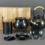 東京都 台東区で「玉川堂」の銅製の茶器揃や花瓶を買い取らせて頂きました