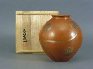 玉川堂 銅製花瓶