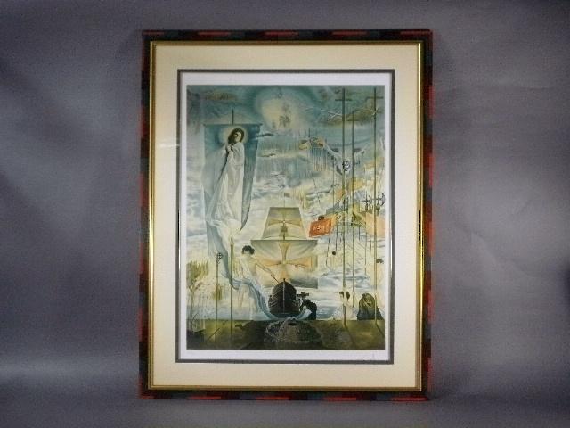 埼玉県 越谷市のお客様から「サルバドール・ダリ」の作品をお譲り頂きました