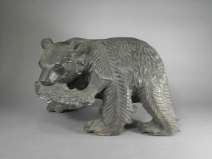 木彫 クマ
