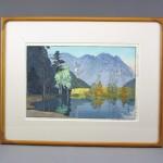 東京都 杉並区で「吉田博」や「笠松紫浪」の木版画を買い取らせて頂きました