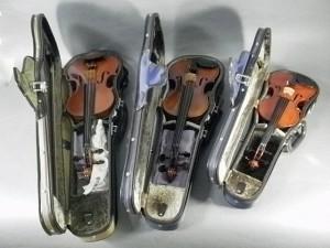 バイオリン3点