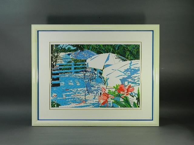 埼玉県 入間市で「鈴木英人」の作品を買い受けさせて頂きました