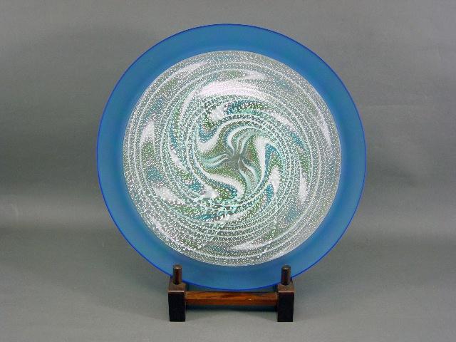 東京都 千代田区で「石井康治」の大皿やアールデコ調のガラスコンポートを買取らせて頂きました