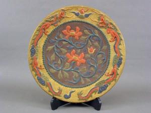 琉球焼(古琉球) 大皿