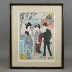 東京都 板橋区で「竹久夢二」や「土屋正男」の木版画を買取らせて頂きました