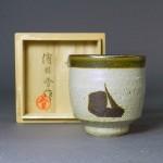 埼玉県 熊谷市で「浜田(濱田)晋作」や鼠志野の作品をお譲り頂きました