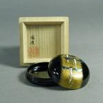 東京都 杉並区で金蒔絵(金高蒔絵)や螺鈿細工の漆器(香合)をお譲り頂きました