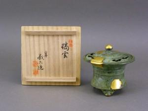 秦蔵六 鋳造 香炉