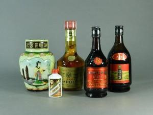 中国古酒 紹興酒 ナポレオン高麗人参 貴州茅台酒