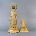 東京都 杉並区で木彫の仏像や仏具、帯、懐中時計などを買い受けさせて頂きました