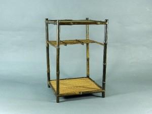 竹製 煎茶棚