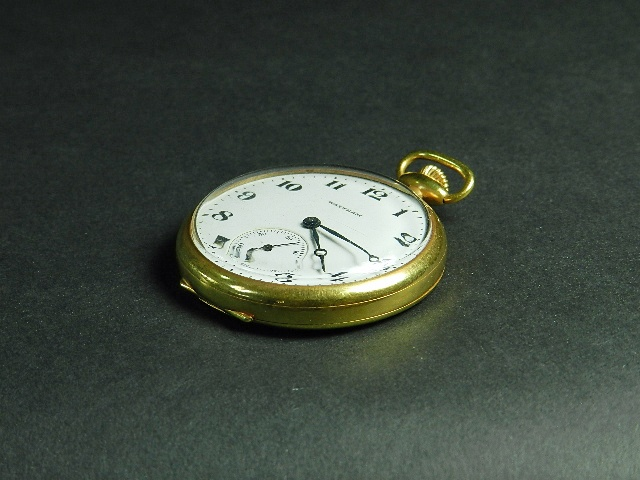 さいたま市 見沼区で外国製の懐中時計をお譲り頂きました