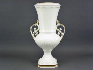 ナルミ 白磁 飾り壺