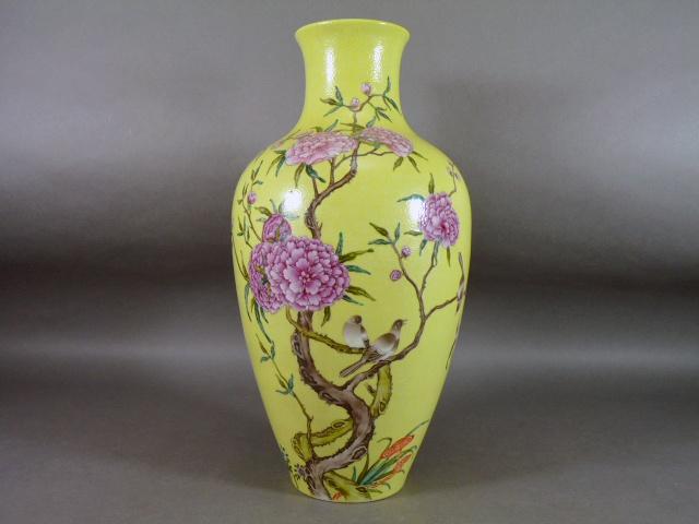 千葉県 流山市で中国の粉彩花瓶や茶碗を買い受けさせて頂きました