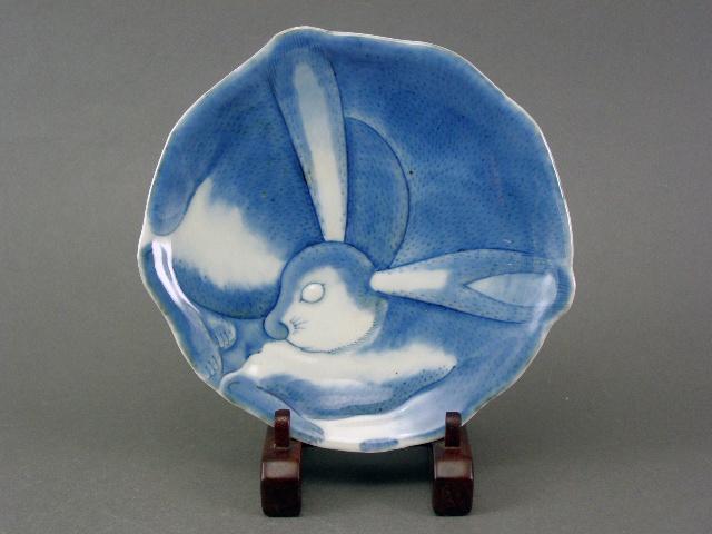 埼玉県 白岡市で古伊万里の兎型の皿やオールド香蘭社の作品を買い受けさせて頂きました