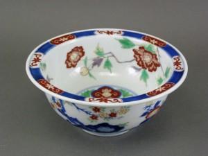 香蘭社 花模様 鉢