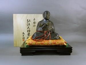 木彫 弘法大師像