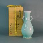 神奈川県 横浜市のお客様から「七代 小笠原長春」の花瓶や漆器を宅配買取で買い取らせて頂きました