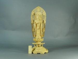 細密木彫仏像