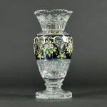 東京都 東大和市で「ボヘミアクリスタル」や「雨宮喜能登」のガラス花瓶を買取らせて頂きました