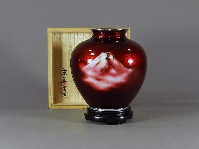 埼玉県 和光市で七宝花瓶などを買い受けさせて頂きました