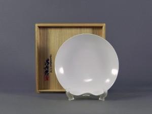 中村清六 白磁 皿