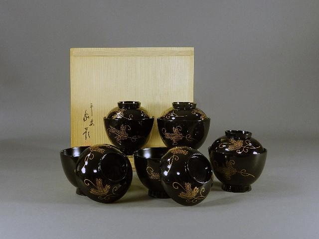 埼玉県 朝霞市で蒔絵が施された漆器を買い取らせて頂きました