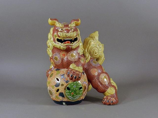 神奈川県 川崎市 登戸で九谷焼や木彫などを買い受けさせて頂きました