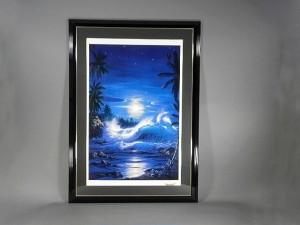 ラッセン 月夜の海岸