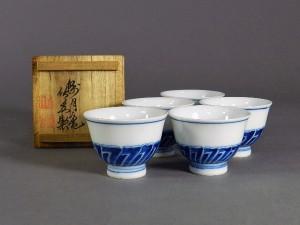 三浦竹泉 煎茶椀 共箱