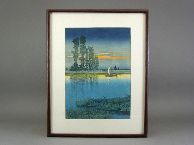 東京都 調布市で「川瀬巴水」の木版画を買い取らせて頂きました