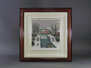 ミッシェルドラクロワ 雪の街並