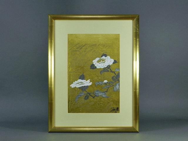 埼玉県 越谷市で「今井俊満」や「マリー・ローランサン」の作品を買取らせて頂きました
