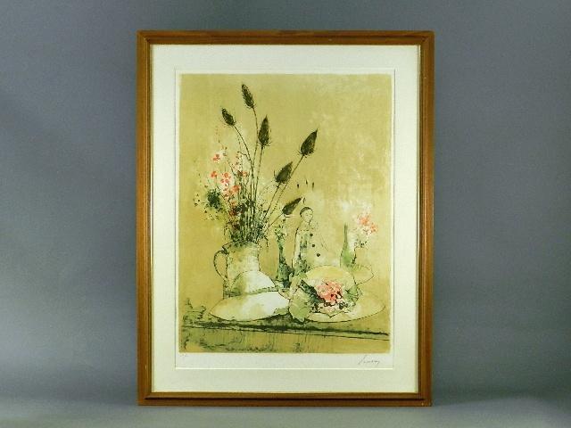東京都 世田谷区で「ジャン・ジャンセン」や「ベルナール・ビュッフェ」の作品をお譲り頂きました