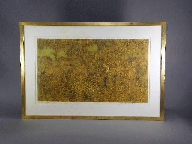 東京都 江戸川区で「星襄一」の木版画や「梶喜一」の日本画をお譲り頂きました