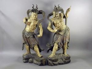 埼玉県 深谷市で木彫の仏像やブロンズ像を買い取らせて頂きました