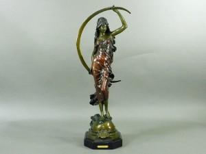 ブロンズ 女神像